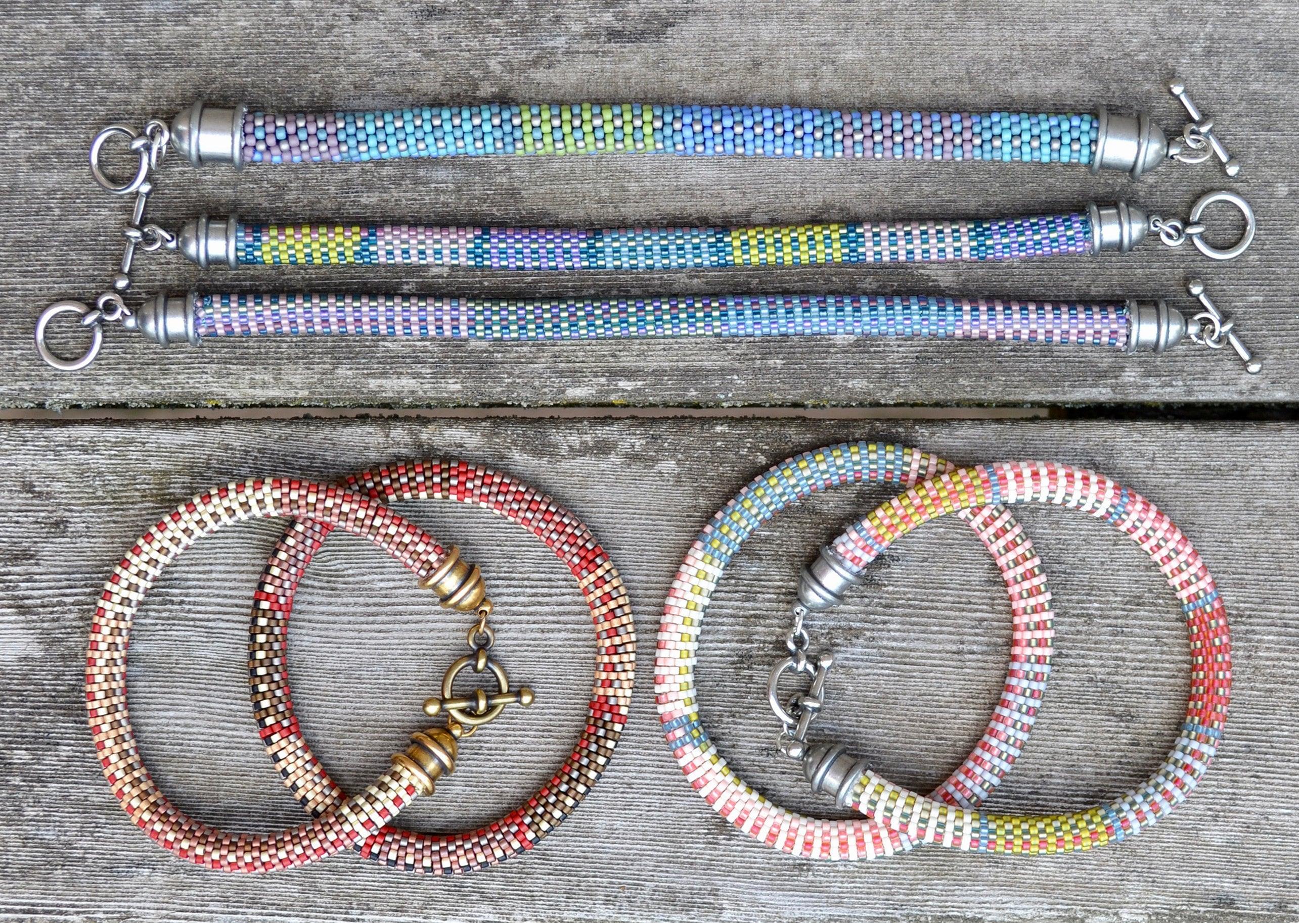 10 Bead Crochet Patterns using Slip Stitch Bead Crochet - Designer ...