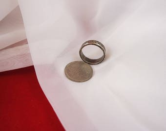 Ring from a coin 1 D-Mark ring fashion Jewelry Markstück