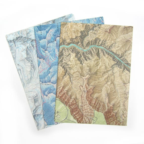 Set of 3 A4 envelopes - World variations