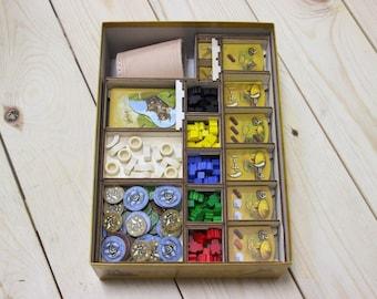 Stone Age Board Game Insert, Organizer, Storage Solution