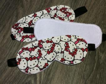 Hello Kitty Sleep Mask - Travel/Spa Mask - Soft inside