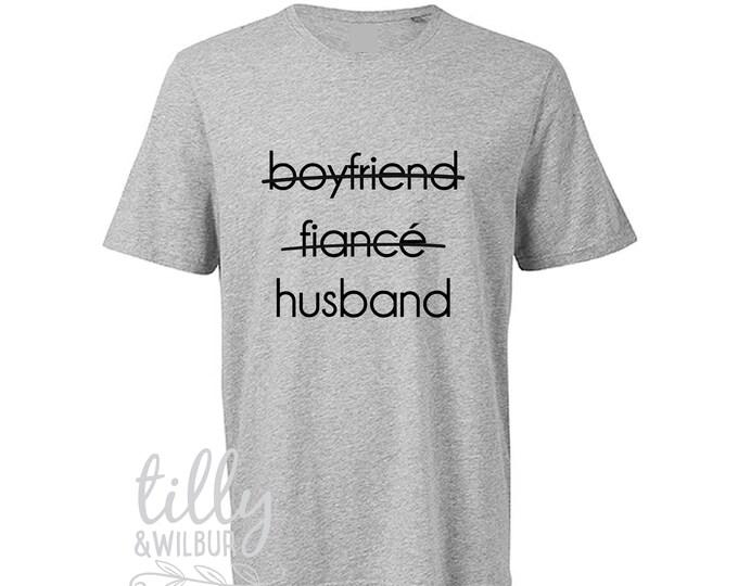 Boyfriend Fiance Husband Men's T-Shirt