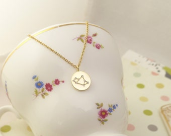 Sagittarius Constellation Necklace,Sagittarius Necklace,Zodiac Sagittarius,Zodiac necklace,Constellation Jewelry,Gift idea,zodiac jewelry