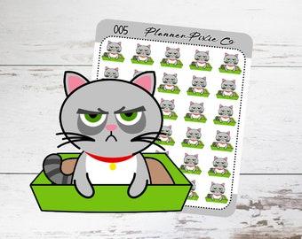 Grumpy Cat // Litter Box // Housework // Chores // Clean // 005