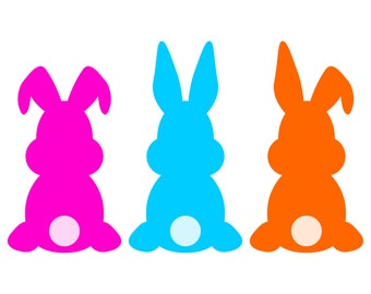 Easter Bunny SVG, Easter Bunny DXF, Easter Bunny Clipart, Easter Bunny Printable, Easter Rabbit SVG, Easter Bunnies Svg, Easter Svg files