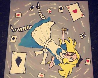 Alice In Wonderland Painting