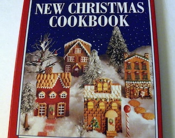 Betty Crocker NEW CHRISTMAS Cookbook Hardcover w Dust Jacket HCDJ Holiday Gifts & Decor