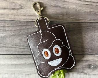 Canine Walkies Poop Bag Keeper | Sanitizer Pocket Keeper - KeyChain -  KeyFob - BagTag