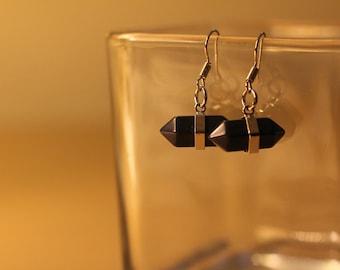 Geometric Gemstone Earrings
