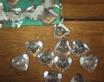 Heart Applique ~10 pieces #100329