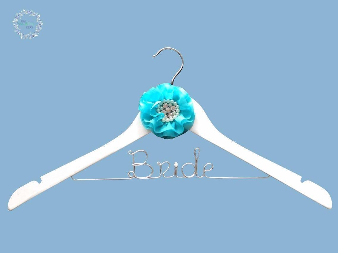 Something blue bridal coat hanger free I Do Shoe Sticker