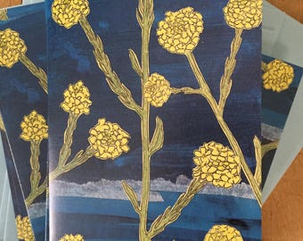 Mustard Flower Boxed Note Cards