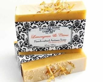 Lemongrass & Citrus Essential Oil Soap
