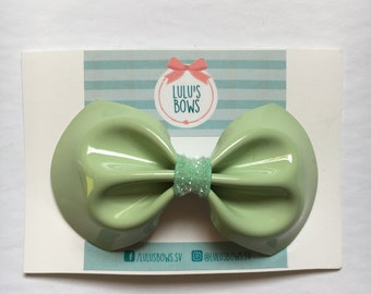 Glossy Tie Bow