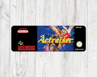 SNES Sticker: ActRaiser 2 [EUR]