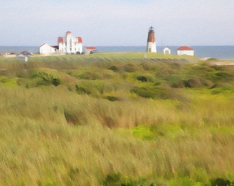 Point Judith, Rhode Island, Coast Guard, Lighthouse, Bucolic New England Scenery