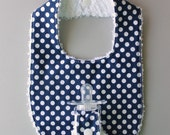 Baby Binky Bib in Riley B...