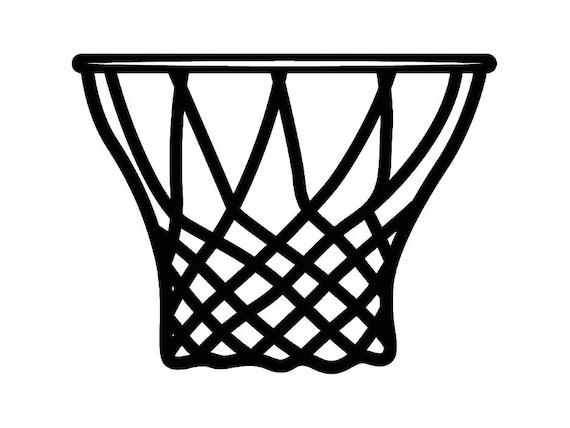 basketball hoop 5 backboard goal rim basket ball net sports rh etsy com basketball net clipart black and white basketball net clipart vector
