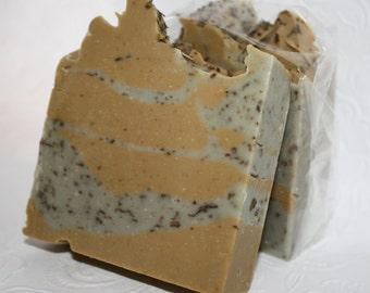 """Savon La """"Grasse"""" Matinée, Savon artisanal fait main 100% naturel,Cold process Natural Handmade Soap,savon pour peau grasse,savon à l'argile"""
