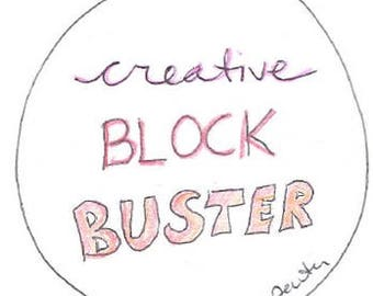 Creative Block Buster - Life Creativity Coaching Sessions - 45 minutes