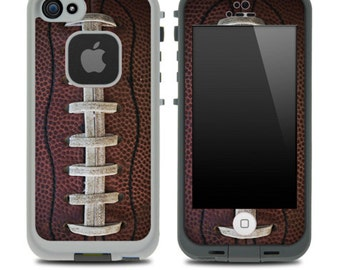 Football Laced Skin for the iPhone 4/4s or 5 LifeProof Case