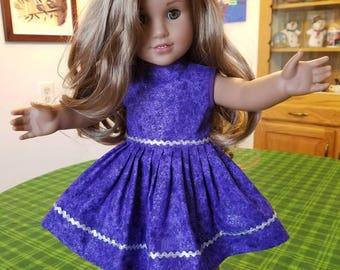 American Girl Doll Dress (SKU M110)