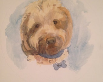 Custom Formal Pet Portrait! Dogs, Cats, any and all beloved pets