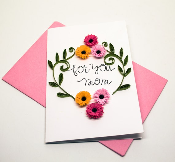 Mother greeting card floral card for mom for you mom mother greeting card floral card for mom for you mom birthday card mother from daughter card card from son mother of bride bookmarktalkfo Image collections