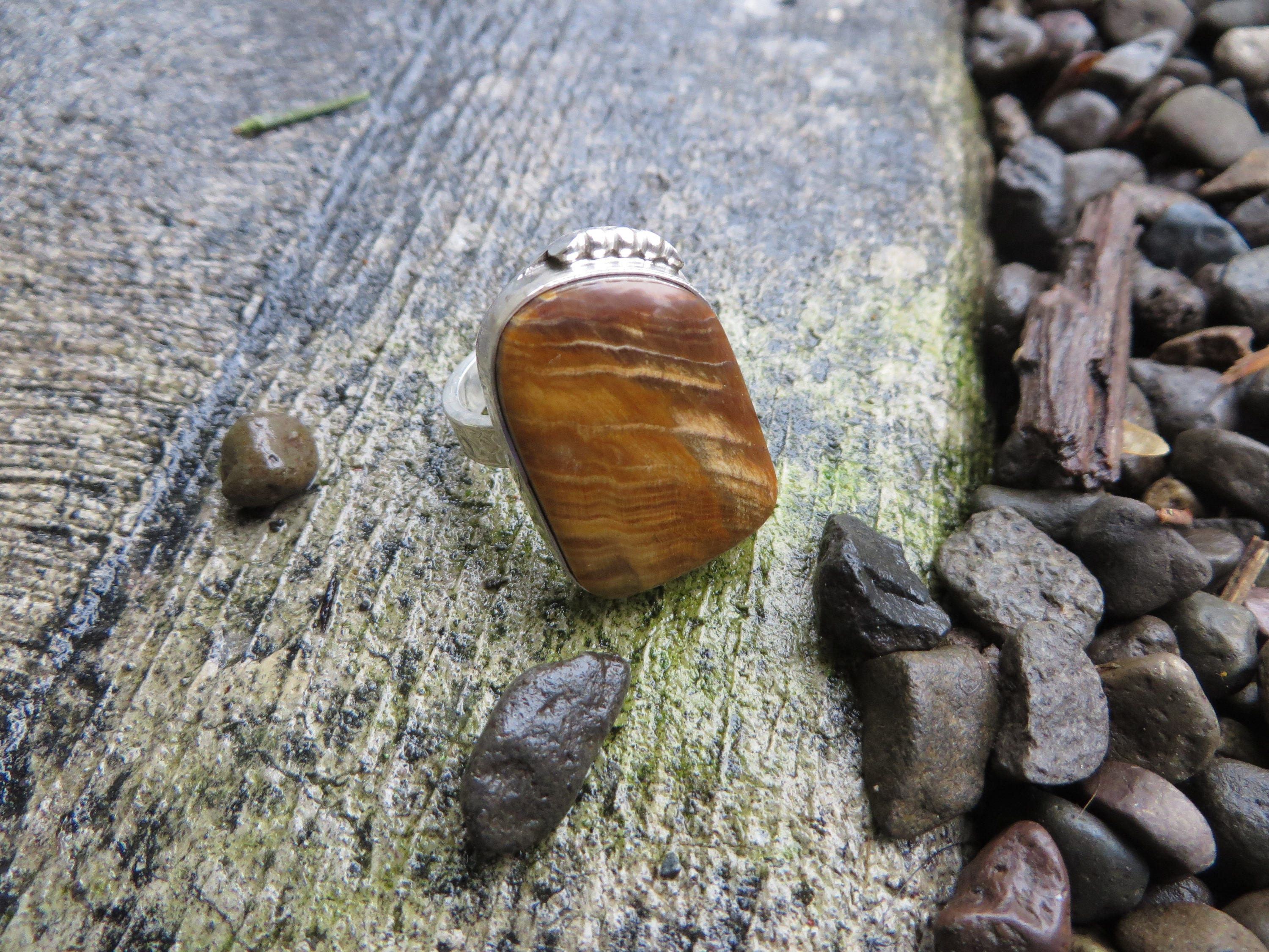 wood rings ring store engagement petrified size