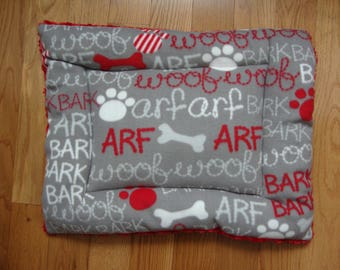 Arf Woof Puffy Pet Bed
