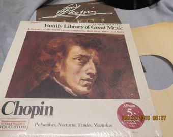 Chopin Vinyl LP Album FW-305 1966