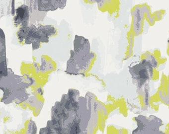 Art Gallery Luxe in Bloom Cascade Agate LIB-7203 BTY Blue Green Gray