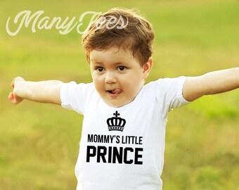 Little prince shirt mommys little man shirt prince shirt son shirt prince baby shower prince baby onesie prince baby outfit  little prince
