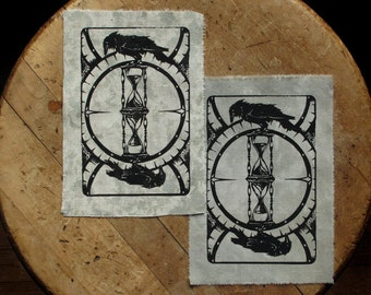 """Murders & Unkindnesses - 5x7"""" Screen Printed Sew-On Art Patch"""