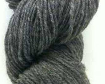 Aran Natural Yarn Grey 100% Wool 7oz/200g