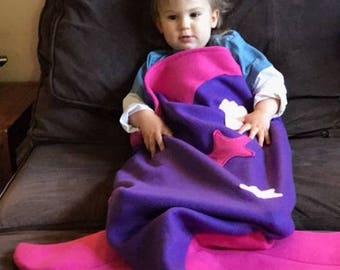 Mermaid Snuggie Tails for Toddlers and Kids