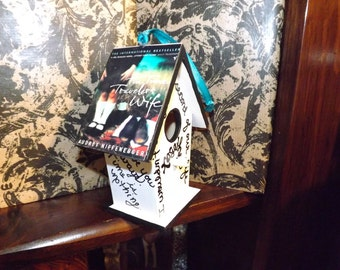 Time Traveler's Wife Tribute Birdhouse Ornament:Free Shipping!