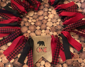 Lumberjack High Chair Banner