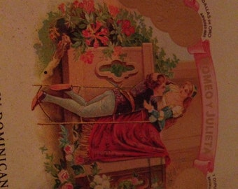 Romeo Y Julieta Cigar Box
