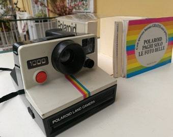 Polaroid 1000 Land Camera + Box & Manuals