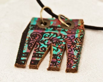 Modern Long Necklace Bohemian Necklace Boho Chic Statement Jewelry