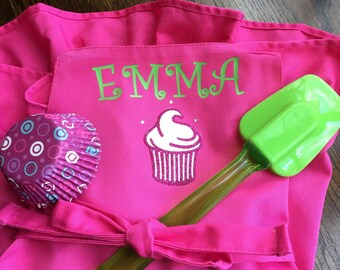 Personalized Apron for GIRLS through Age 5