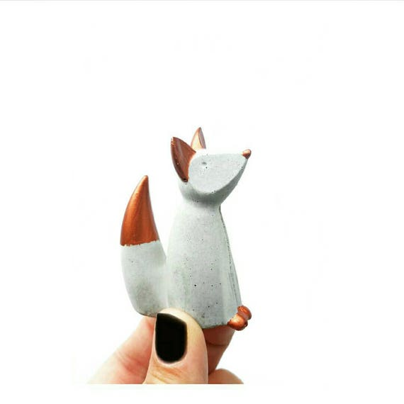 Fox Ring Cone, Fox Ring Holder, Fox Decor, Ring Holder, Jewelry Display, Fox, Jewelry Dish, Ring Dish, Ring Cone