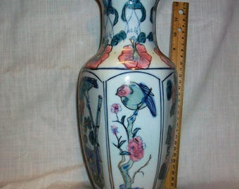 "Listing 103 is a 14"" H chinese porcelain vase"