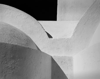 Greece Photography, Black And White Photography, Fine Art Photography, Architectural Photography, Mykonos Greece