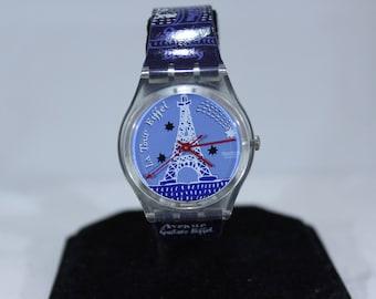 Vintage 1997 La Tour Eiffel Swatch Watch