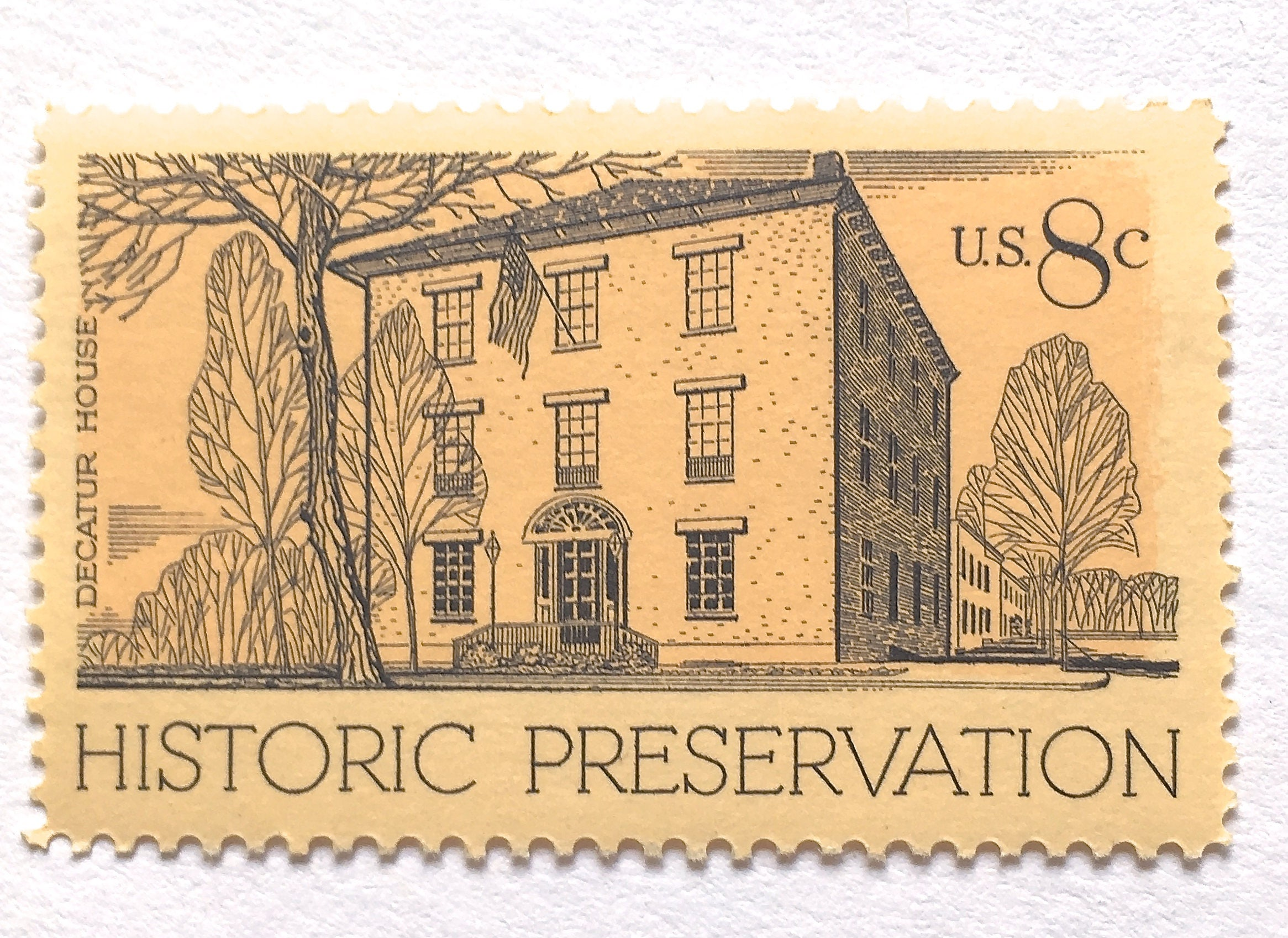 10 unused historic house postage stamps decatur house in description 10 unused historic house postage stamps monicamarmolfo Gallery