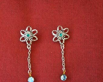 Dangling gem drop earrings! SHIPS IMMEDIATELY from USA!