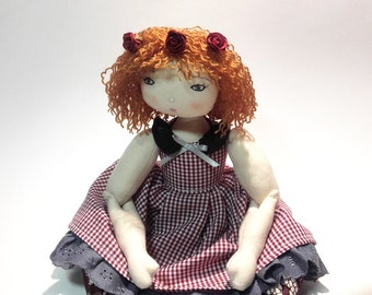 Rag doll sewing pattern– Instand PDF download in English – Number 22