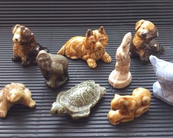 Collection of Vintage wade whimsies